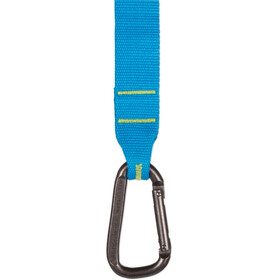 Sea to Summit Carabiner - Sangle - 2,0m Pair vert/turquoise